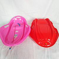 Санки Super Boat ракушка ледянка (детские пластиковые санки)