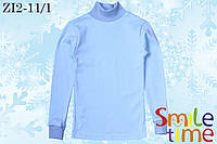 Водолазка детская турецкая ткань р.110,116 SmileTime,св-голубая