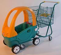 Тележка Kid Car с авто для ребенка