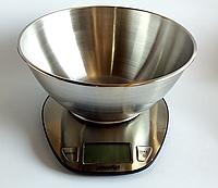 Весы кухонные с металлической чашей Mesko, фото 1