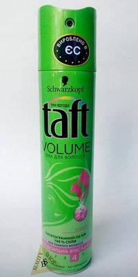 Лак для волос Taft Сила Обьема