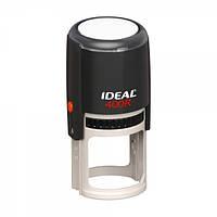 Оснастка для круглой печати Ideal 400R, диаметр 40 мм, корпус пластиковый черный