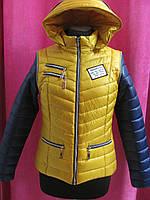 Куртка демисезонная-трансформер р.48, код 3069М