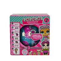 Кукла LOLOLOL 2-я серия 7 аксессуаров