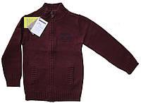 Вязаный свитер на молнии для мальчика 116см 6лет Sergent Major Франция