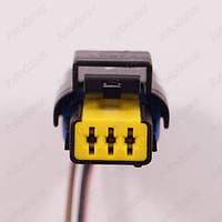 Разъем электрический 3-х контактный (16-10) б/у