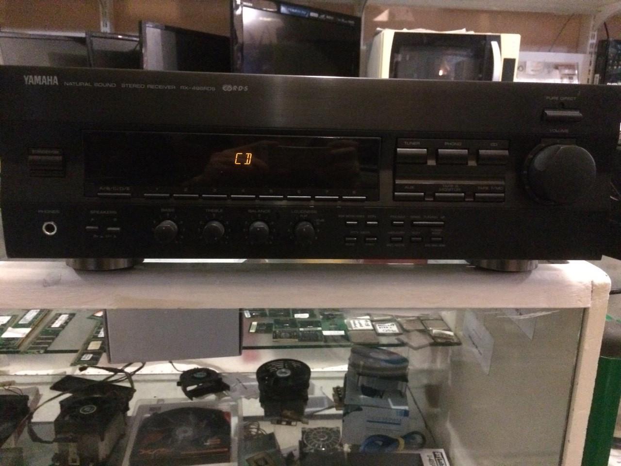 Ресивер Yamaha RX-496RDS - Комиссионный магазин Лидер в Мариуполе