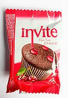 Бисквитный кекс с вишневой начинкой Invite