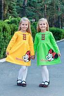Платье для девочки  Микки-Маус