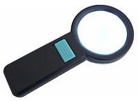 Лупа 1210-5 с подсветкой (диаметр 82 мм., увеличение 5x)