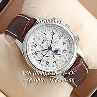 Часы Longines Master Collection Moonphases Brown-Silver-White ААА реплика