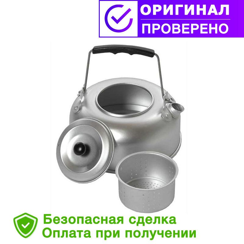 Походный алюминиевый Mil-Tec чайник 1Qt(0,95л) с ситечком (14695000)