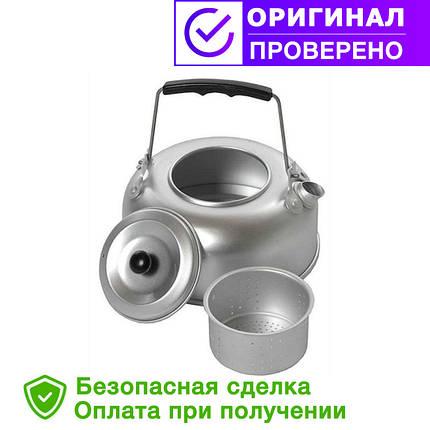 Походный алюминиевый Mil-Tec чайник 1Qt(0,95л) с ситечком (14695000), фото 2