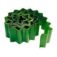 Бордюр садовый, 15 х 900 см, зелёный// PALISAD 64481