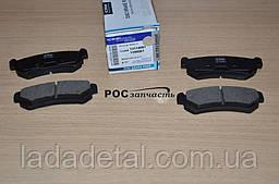 Колодки Лачети задние (старый образец) CRB 96800089