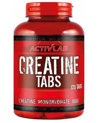 Creatine Tabs Activlab 120 tabs, фото 2