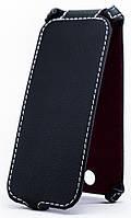 Чехол Status Flip для Microsoft Lumia 630 Black Matte