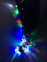 Уличная светодиодная гирлянда мульти флеш 10 метров
