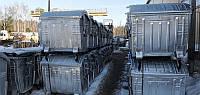 Мусорный контейнер 1100л оцинкованный в Киеве