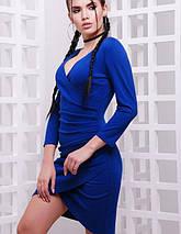 Женское облегающее платье на запах (Amelie fup), фото 2
