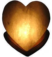 """Соляной светильник """"Сердце"""""""