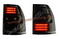 Задние фонари на Mitsubishi Pajero V 80 2008-2014 тонированные