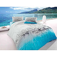 Комплект постельного белья Cotton Box Maritime Marina mavi