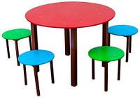 Стол со стульями. С-001-1, фото 1