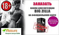 Big Zilla - капли для потенции, Официальный сайт.