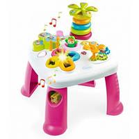 Детский игровой стол Cotoons Цветочек (розовый), Smoby Toys