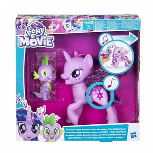 Игровой набор Твайлайт Спаркл, которая поет, и Спайк, Сияние, My Little Pony C0718
