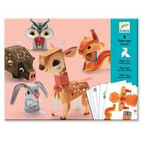 Лесные животные, набор для оригами, Djeco