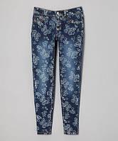 Подростковые джинсы бабочки для девочки, 0184