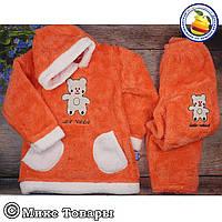 Тёплый пушистый костюм для девочки Размеры: 4-5-6-7 лет (5878)