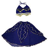 Женский карнавальный костюм Восточный фиолетовый
