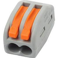Разъем 2-х полюсный Horoz Electric 32А/500 Connector-2