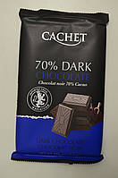 Шоколад CACHET 70% экстра черный шоколад 300 г Бельгия