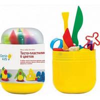 Мини-набор для лепки Тесто-пластилин 6 цветов TA1065V