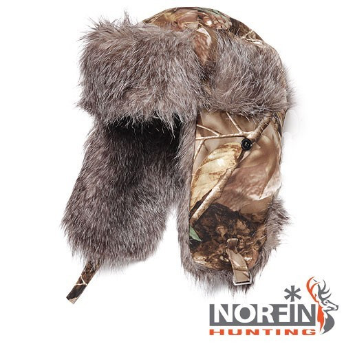 Шапка-ушанка Norfin Hunting (Passion)