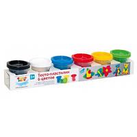 Набор для детского творчества Тесто-пластилин 6 цветов TA1009V