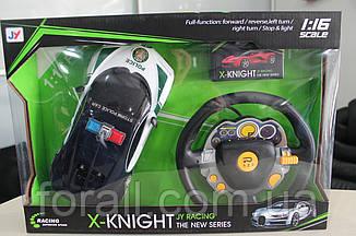Машинка на радио управлении на акумуляторах управление рулем 345-155 полицейская 25см.