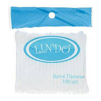 Ватные палочки Lindo для детей 100 шт