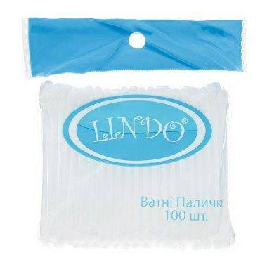 Ватные палочки Lindo для детей 100 шт, фото 2