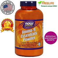 Аминокислоты, Амино спорт-9, AMINO-9 ESSENTIALS POWDER, Now Foods, 330 грамм