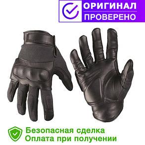 Тактические перчатки с кевларовыми вставкам Black MIL-TEC (12504202) размеры S, L, XXL, фото 2