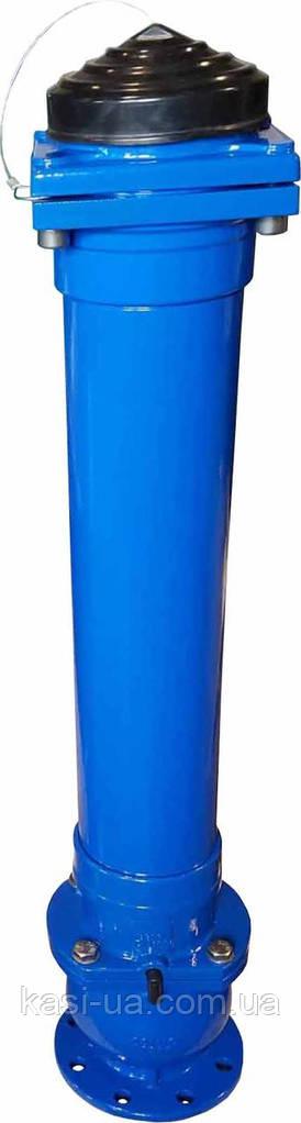 Подземный пожарный гидрант JAFAR 8853 DN 100/125 Н=1250 мм. PN 16 (DUO ГОСТ)