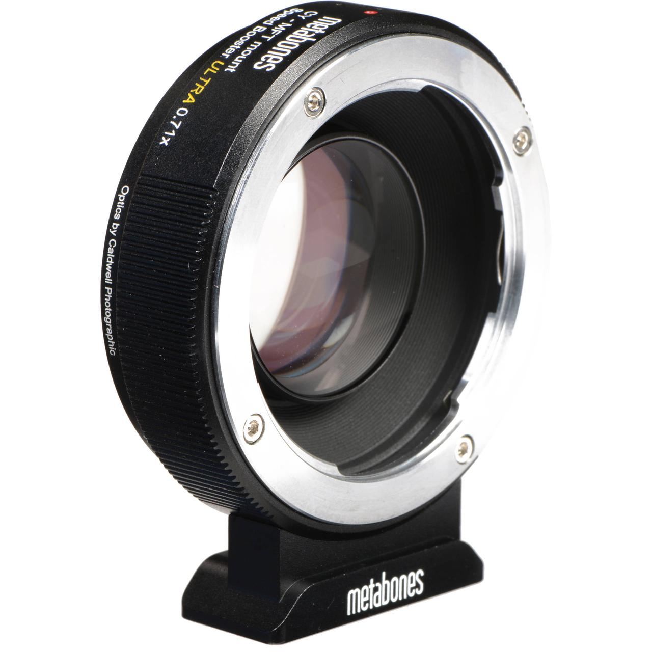 Metabones Ultra 0.71x Adapter for ContaxYashica-Mount Lens to Micro Four Thirds-Mount Camera (MB_SPCY-M43-BM3)
