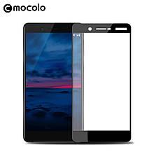 Защитное стекло Mocolo Full сover для Nokia 7 черный