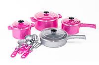 Детский Игрушечный Набор Посуды Кристинка 526, Посудка детская 526 игровая