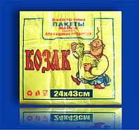 Пакет полиэтиленовый Майка 22х43 Козак 100шт